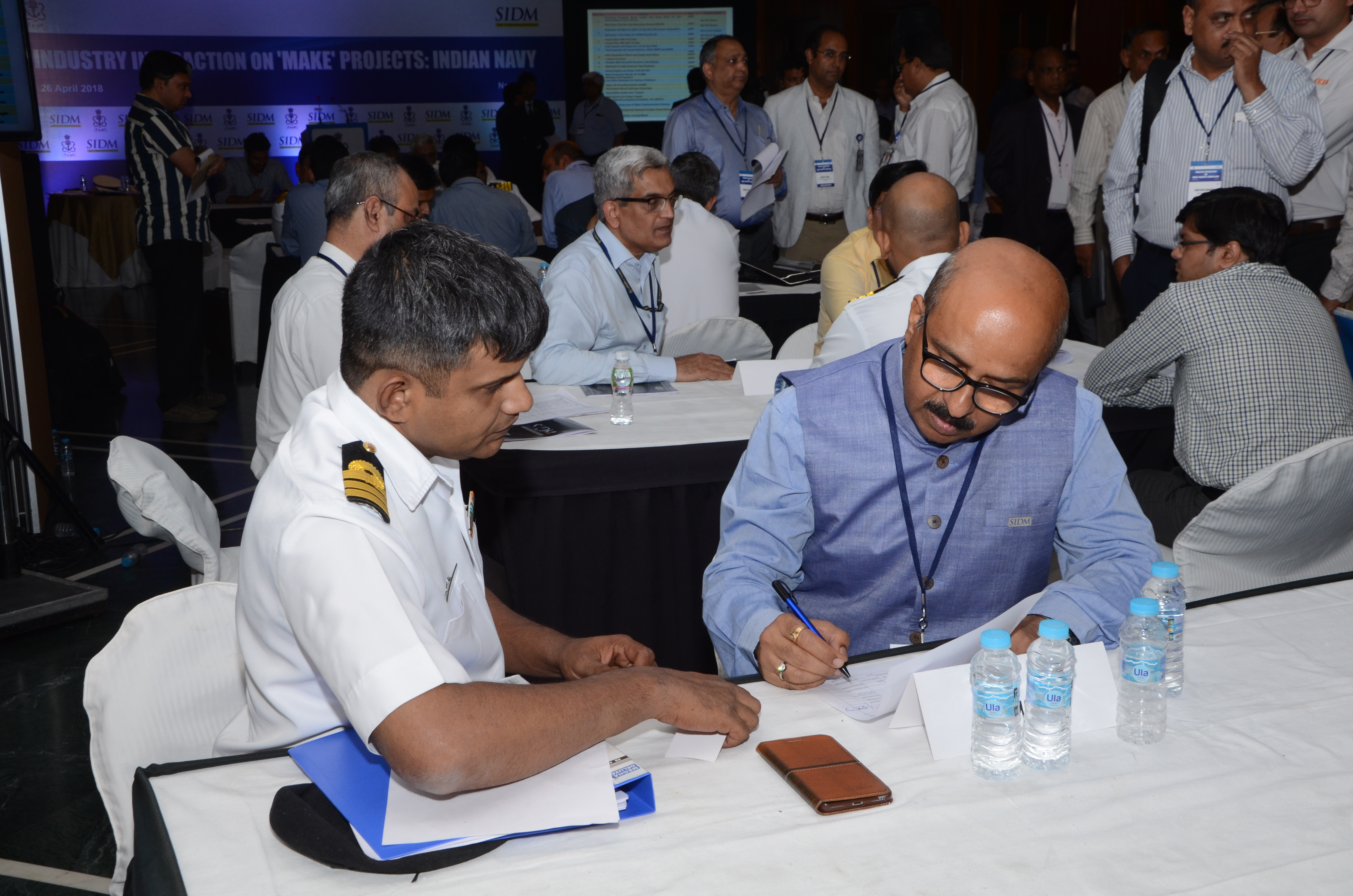 Industry Interaction On 'Make' Project: Indian Navy